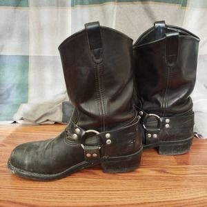 Double-H Ranchwell Harness Leather Boots